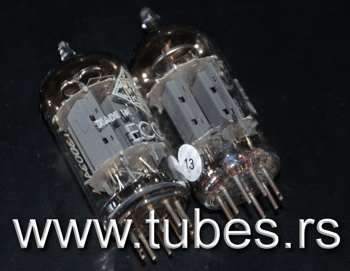 ECC83 Telefunken Smooth Plates EI Nis 12AX7