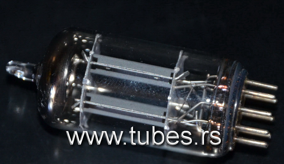 ECC83 Telefunken smooth plates