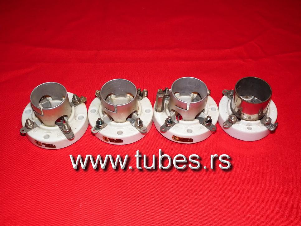 4 Pin Tube Sockets (UX4) 300B 2A3 10 10Y VT-25 866 811 26 3B28 866A 572B