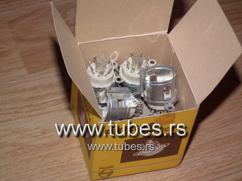 Rimlock Tube Socket B8A Philips