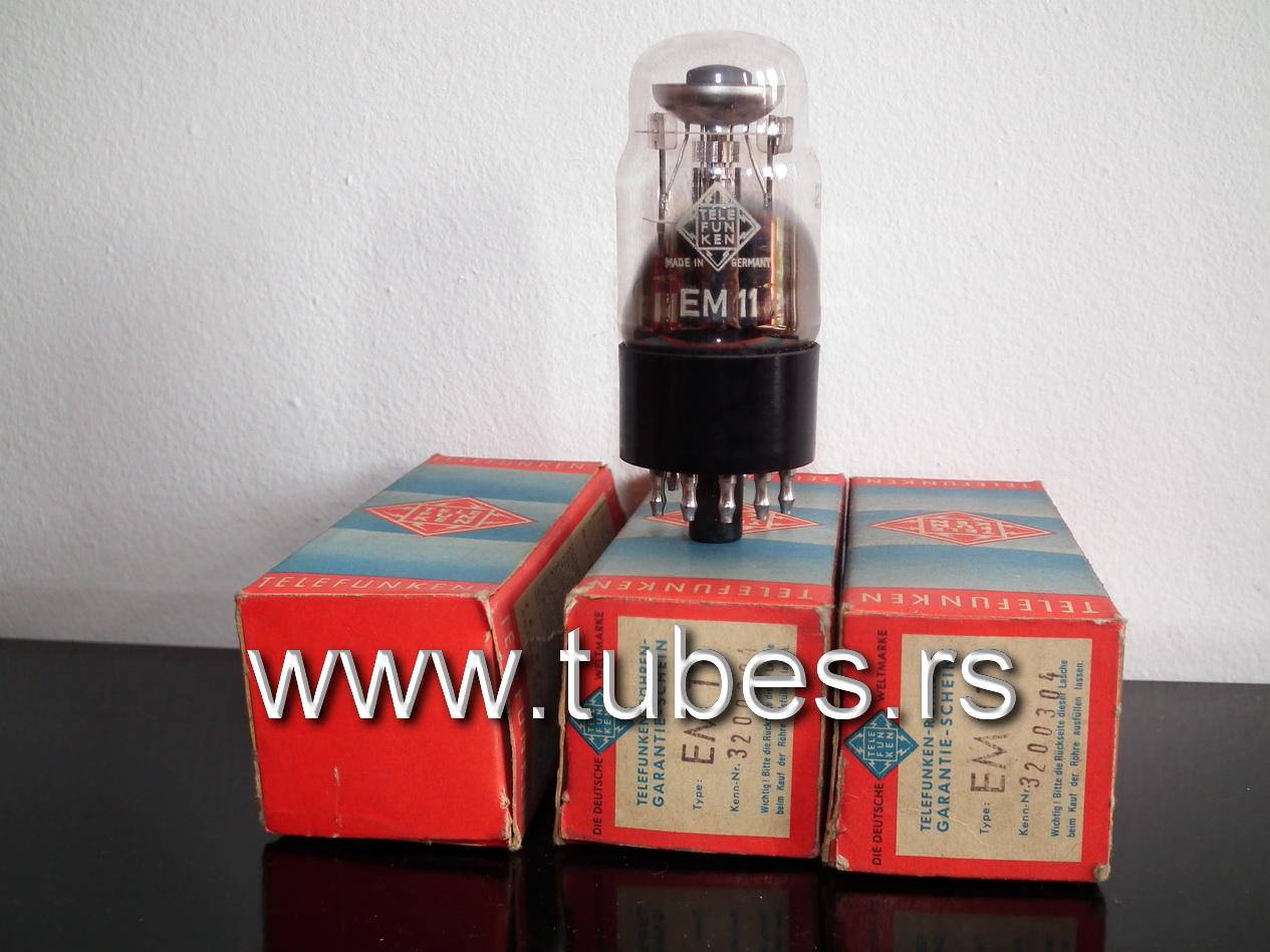 EM11 Telefunken Indicator Tube