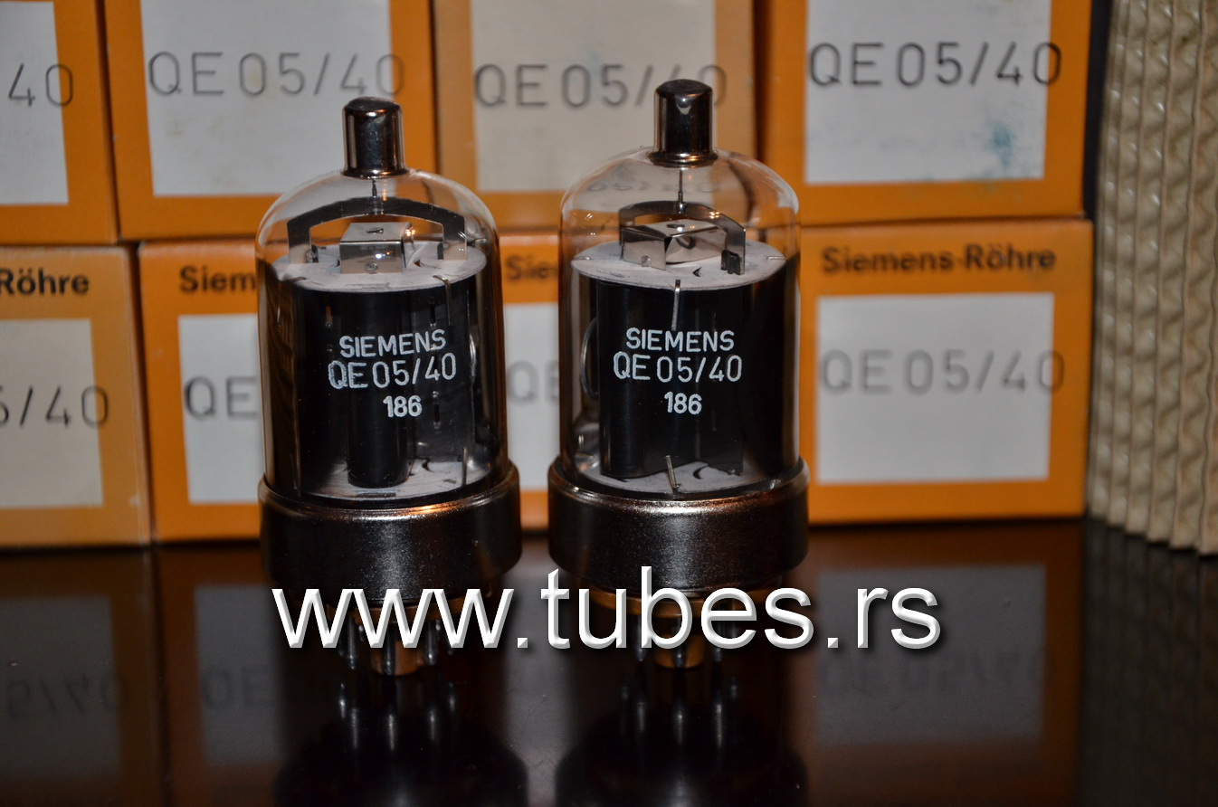 QE05/40 Siemens 6146B West Germany output pentode