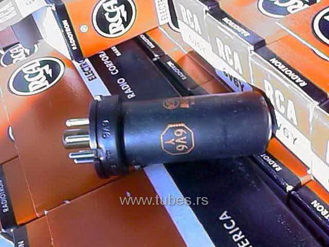 6V6Y RCA Metal