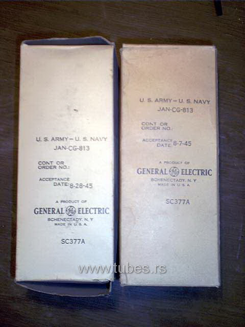 813 VT-144 General Electric
