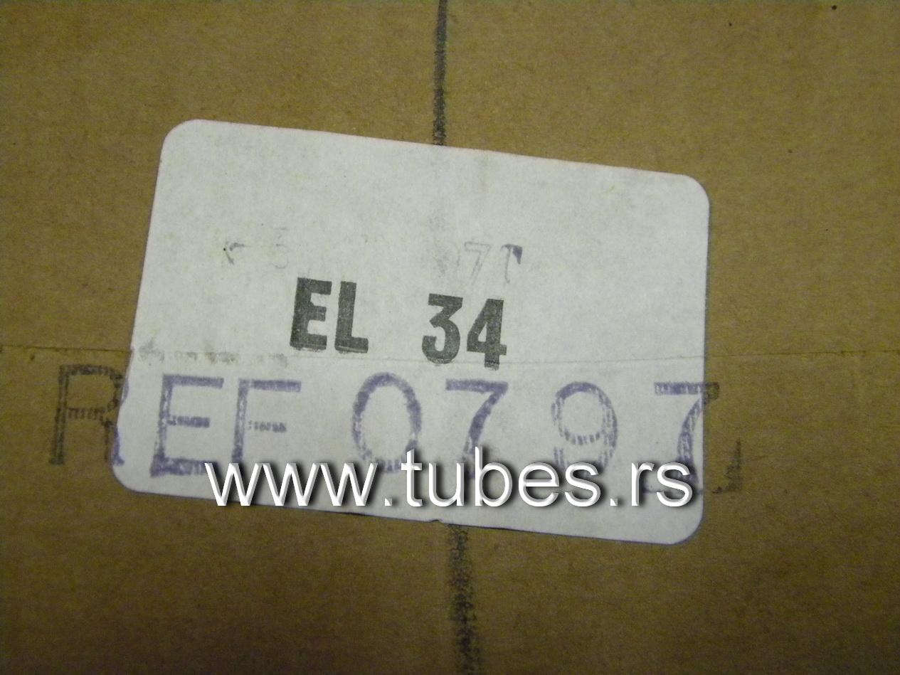 EL34 Mullard 6CA7 Xf3