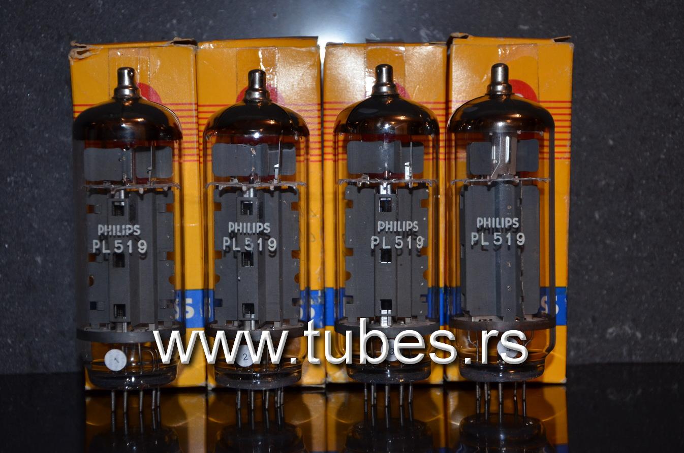 Pl519 Philips 40kg6a Nos Platinum Quad Tube Amplifiers Vacuum Schematics Se Ad1 Ecc35 Amplifier 40kg6