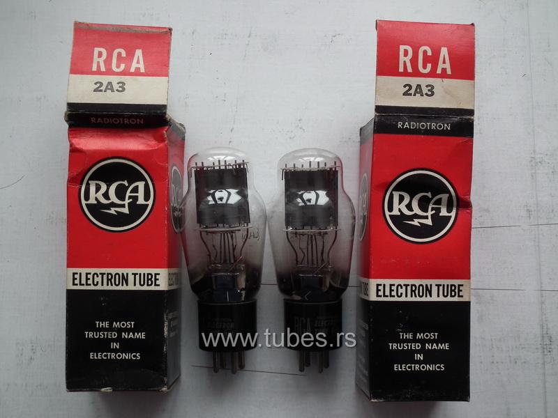 2A3 RCA triode