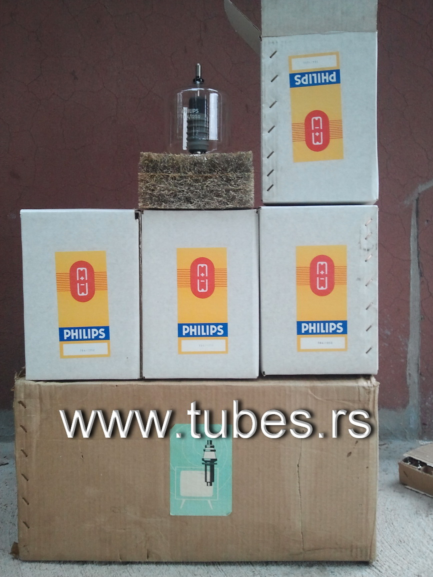 TB4/1250 Philips 5868 DHT Triode