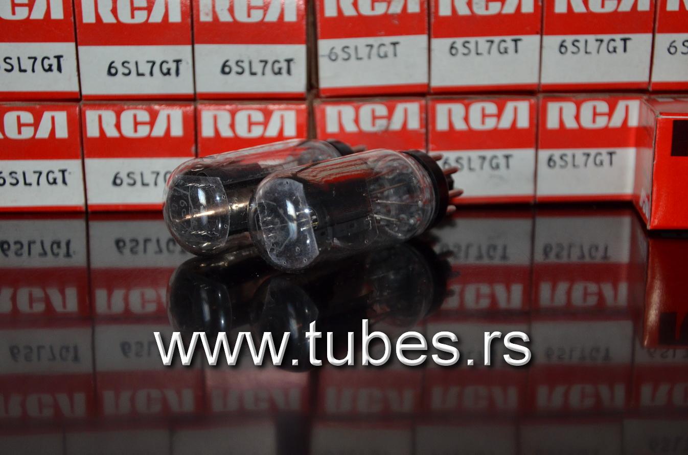 6SL7GT RCA Coin Base