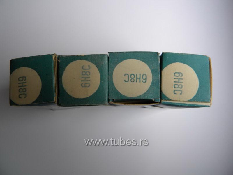 6N8C 6H8C 6SN7 6SN7GT Russian