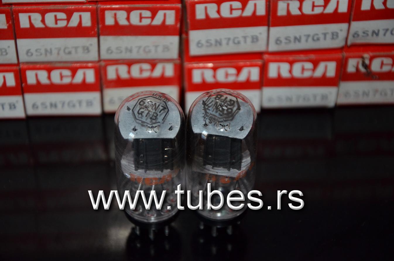 6SN7GT RCA Coin Base