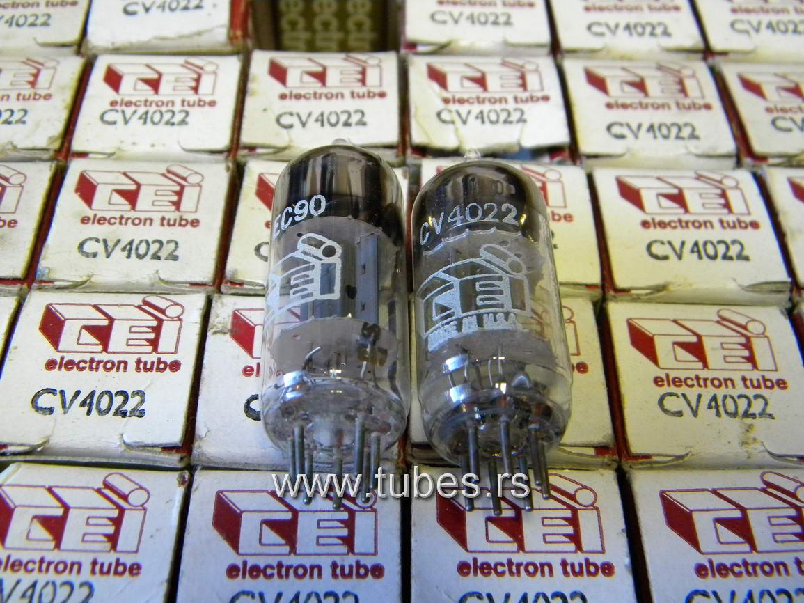 EC90 CV4022 6135 CEI miniature triode