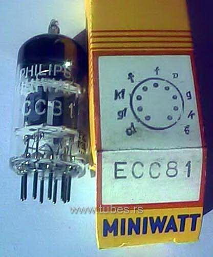 ECC81 Philips 12AT7