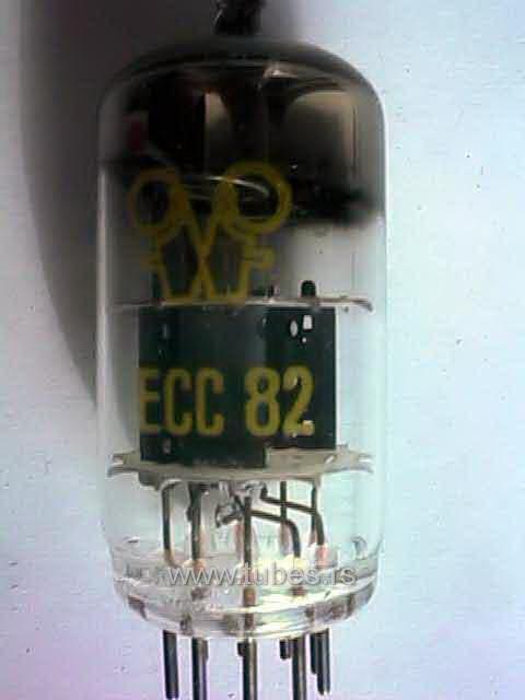 ECC82 12AU7 RFT East Germany