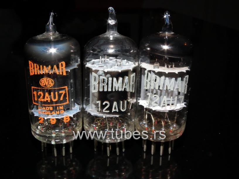 Brimar British made 12AU7 ECC82