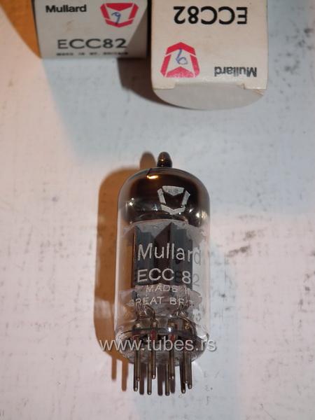ECC82 12AU7 Mullard Made in England