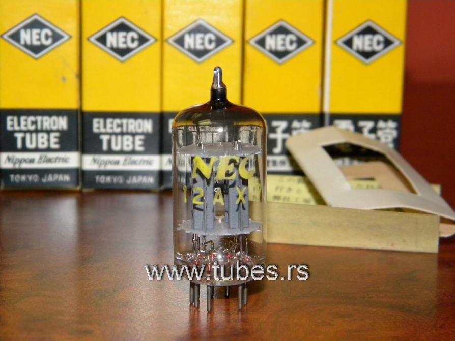 ECC83 12AX7 NEC Japan