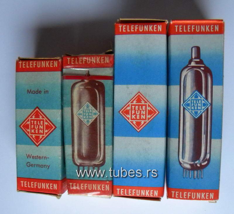 E88CC telefunken boxes