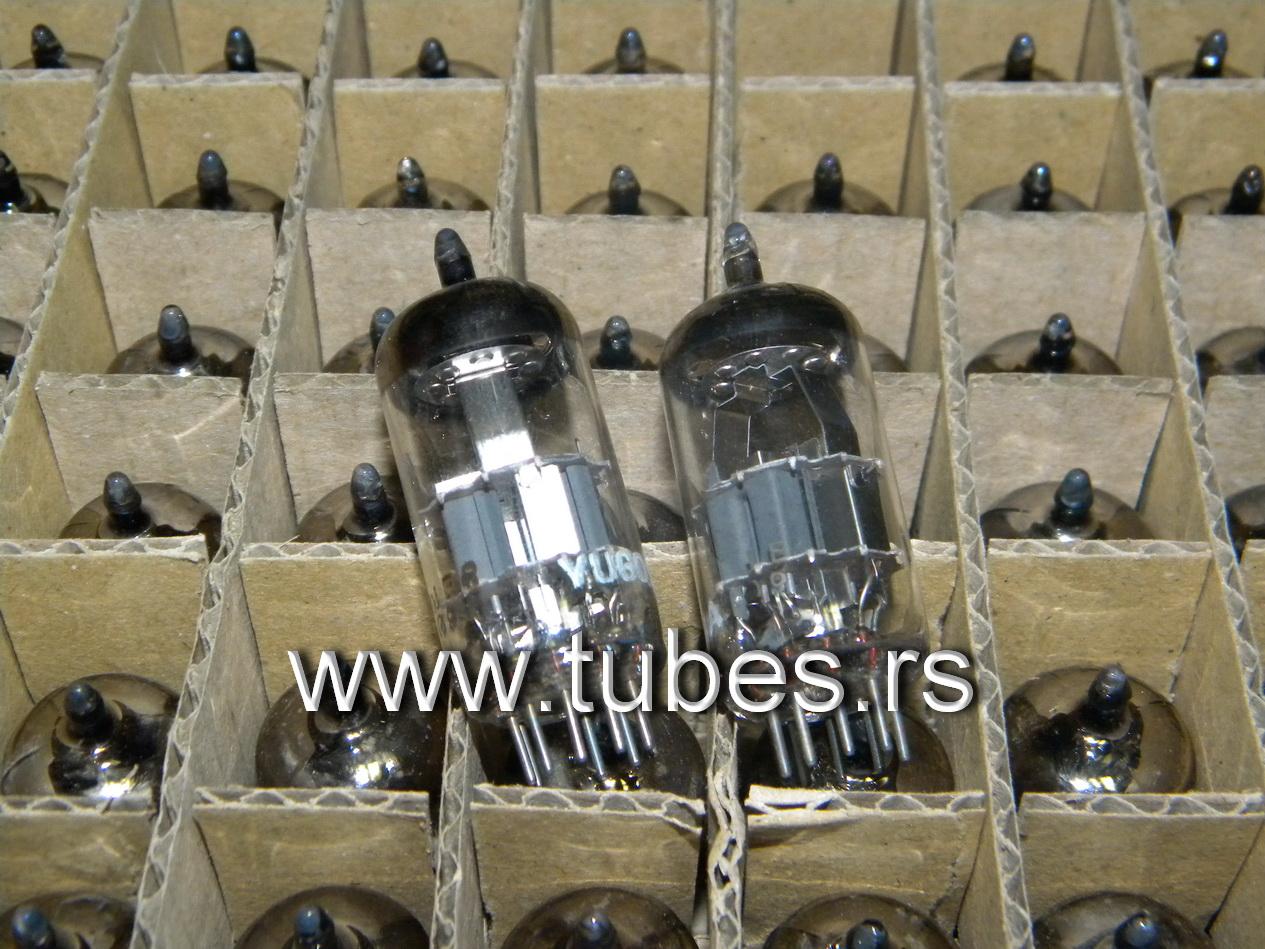 7DJ8 Philips Amperex EI original boxes
