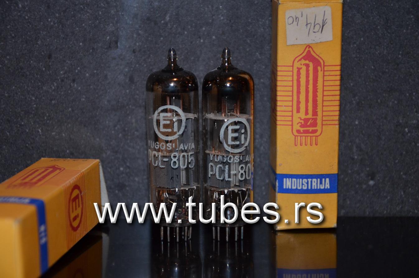 PCL805 PCL85 EI Yugoslavia Philips