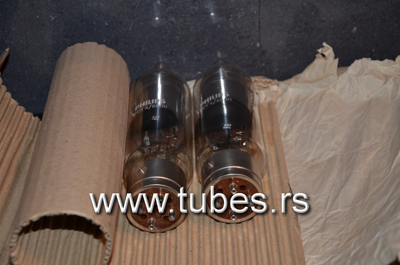 DCX 4/5000 Philips Mercury vapour rectifying valve tube