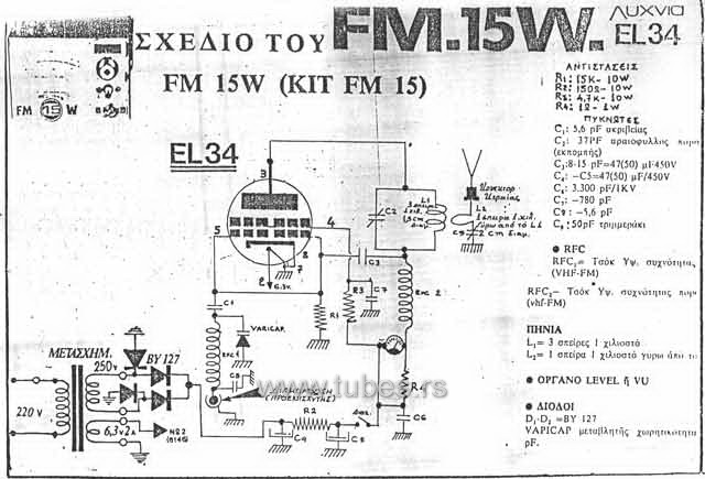 pirate radio fm transmitter with el34
