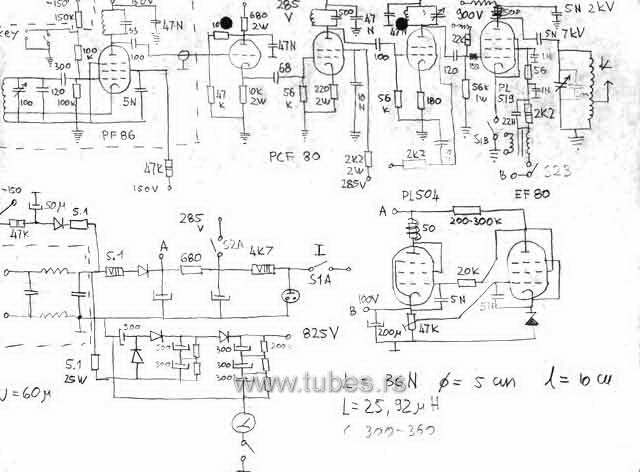 pirate amplitude modulated transmitter 1600khz  u2013 1800khz with pl509 pl519 40kg6 el519 6kg6