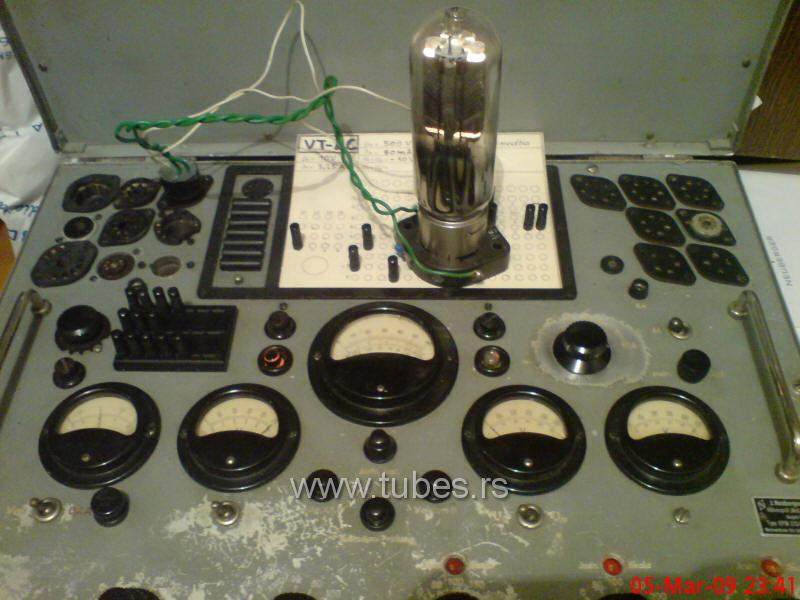 VT4-C 211 plate testing on Neuberger RPM370