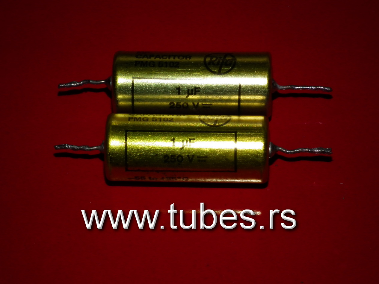 Rifa Sweden NOS paper in oil capacitors PIO 2mfd 250V 1mfd